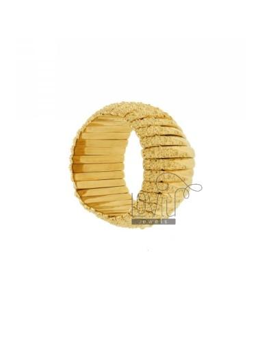 BRONZE BRACELET GOLD PLATED