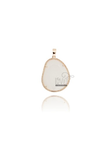 STONE PENDANT WITH A STONE...