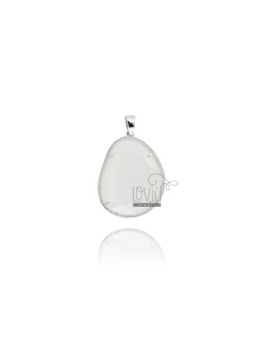 PENDANT WITH STONE STONE MM...