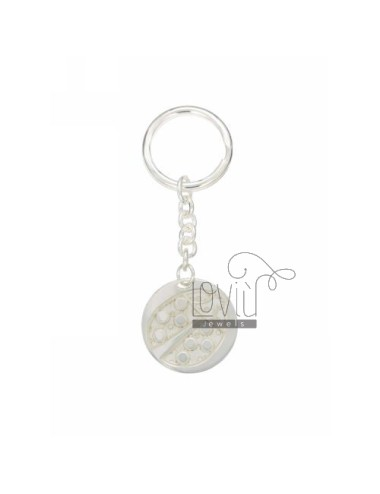 Round key ring with...