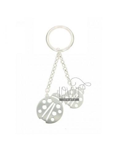 Ladybird key ring double in...