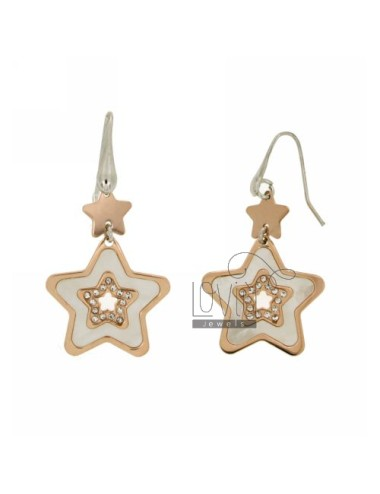 STAR EARRINGS 20 MM WITH...