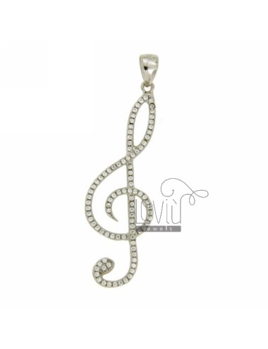 KEY PENDANT 45x15 MM VIOLIN...