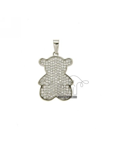 BEAR PENDANT 22x16 MM AND...