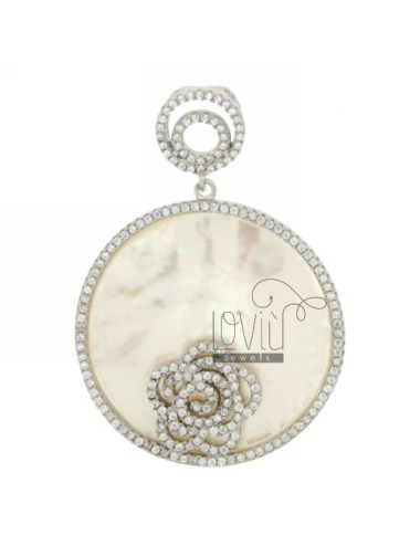 ROUND PEARL NECKLACE 32 MM...