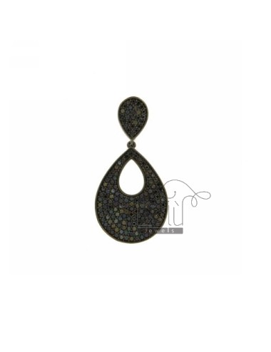 DOUBLE DROP PENDANT PLATED...