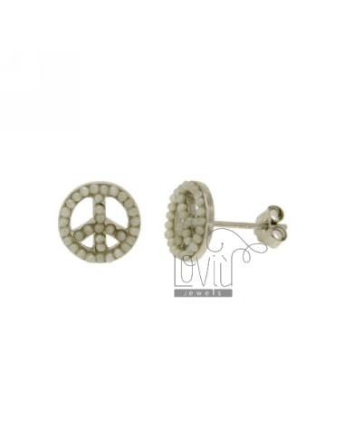 Ohrringe 9 mm symbol des...