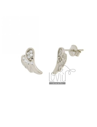 LOBE EARRINGS WING MM 12X7...