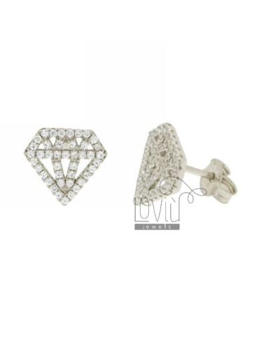 LOBE DIAMOND OHRRINGE MM...