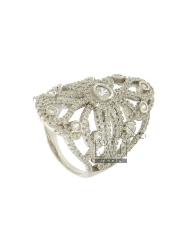 GHIRIGORO RING WITH ZIRCON...