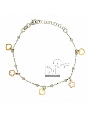 Facettierten Perlen Armband...
