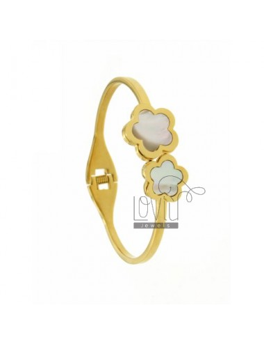 Bangle stainless steel gold...