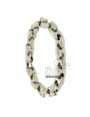 Hinged BRACELET STEEL