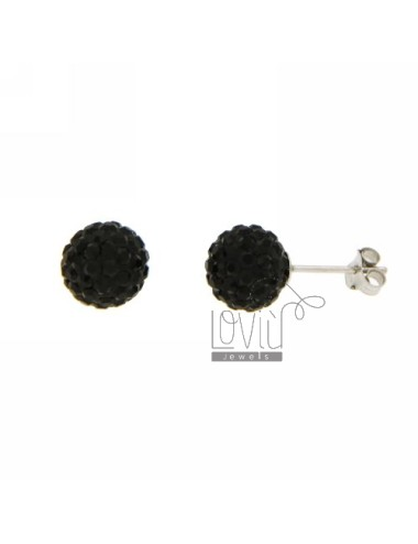 BALL EARRINGS MM 10 WITH...