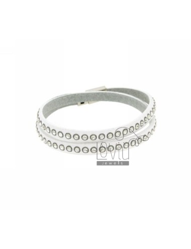 Bracelet leather double...