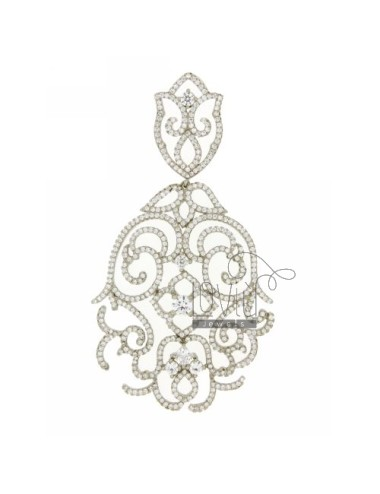 NECKLACE WITH WHITE...