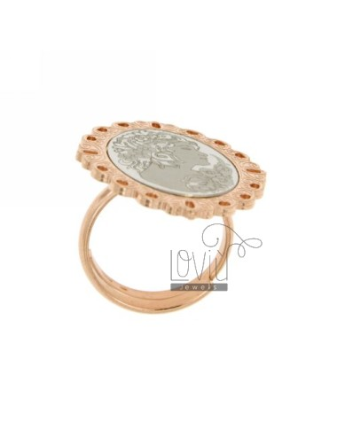 Ring with cameo...