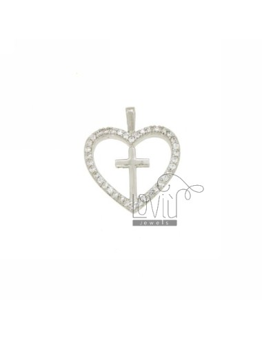 CIONDOLO CUORE MM 21X18 IN...