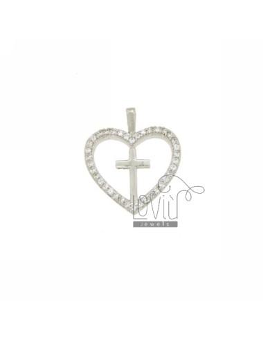 PENDANT HEART MM 21X18...