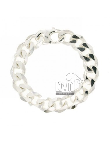 GRUMETTINA BRACELET WITH SPECIAL CLOSING MM 15 CM 22 SILVER 925 ‰