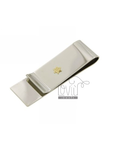 MONEY CLIPS STEEL AND RUDDER Bilamina IN GOLD AND BRASS