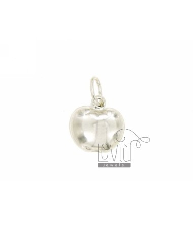 APPLE CHARM COUPLED MM 14X14 SILVER TIT 925 ‰
