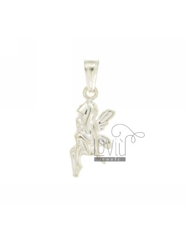 CHARM COUPLED FATINA 25x11 MM SILVER TIT 925 ‰