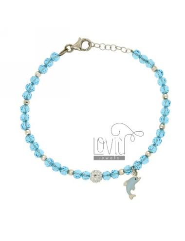 Armband mit kristallkugeln...