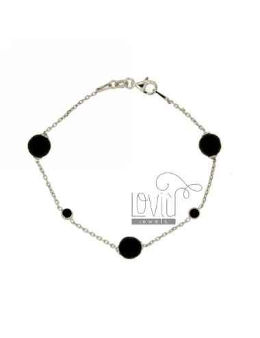 Cable bracelet with balls...