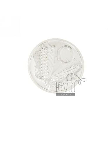 MONETA £ 10 ANNO 2001 DIAMETRO MM 25 IN ARG. TIT 925