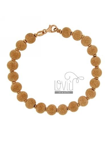 Bracelet spheres dotted 8...