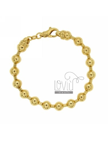 Bracelet spheres 8 mm...