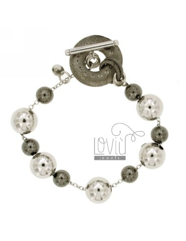BRACCIALE SFERE MM 8-12 IN...