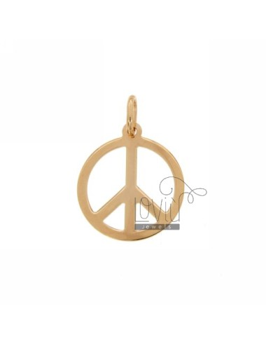 Colgante símbolo de paz...
