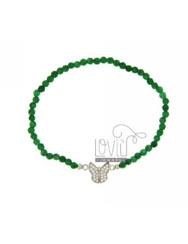 Elastic bracelet with...