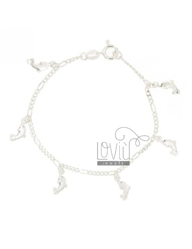 BRACELET WITH DOLPHINS 5 1...
