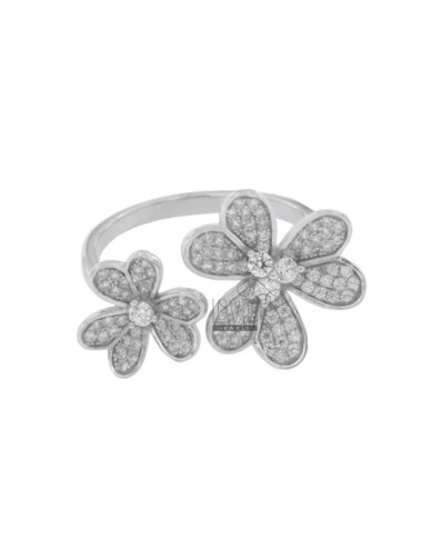 RING DOUBLE FLOWER PETALS...
