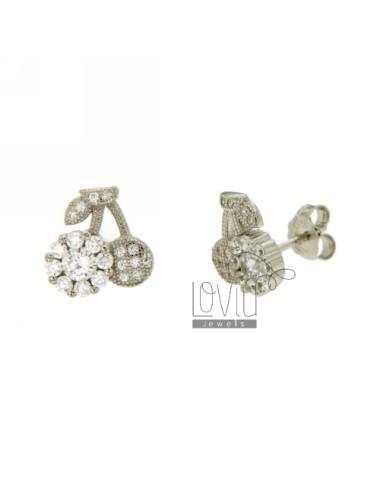 Earrings LOBO CHERRIES IN...