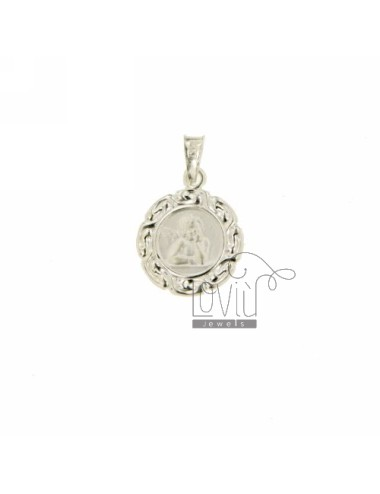 PENDANT ROUND MM 14 Puttino SILVER TIT 925 ‰