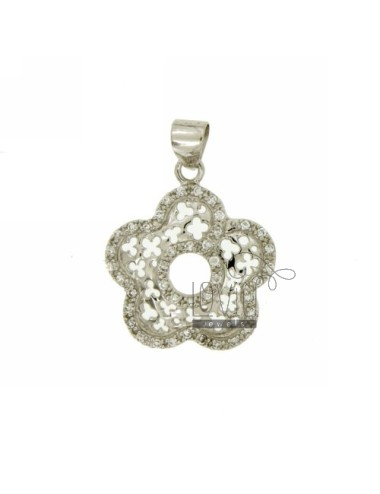 FLOWER PENDANT 26x22 MM IN...