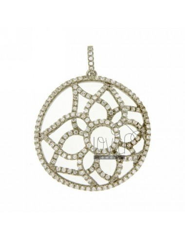 33X31 MM ROUND PENDANT IN...
