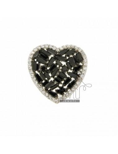 PENDANT HEART THROUGH 25X25...