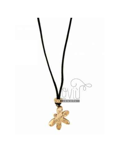 Pendant LADYBIRD LADYBIRD.DOUBLE PLATE IN SILVER ROSE GOLD PLATED TIT 925 ‰ SILK CERATA