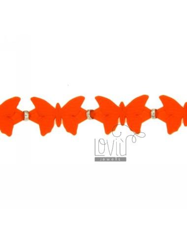 Bracciale farfalle in...