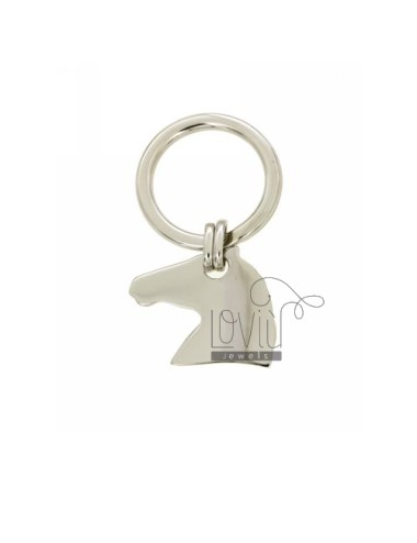 KEY HORSE IN AG TIT RODIATO 925 ‰