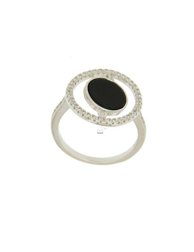 RING ROUND 17 MM SILVER...
