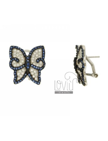 EARRINGS BUTTERFLY LOBO...