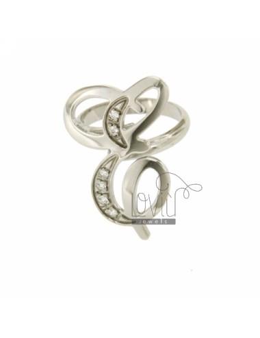 Carta y cursiva anillo mm...