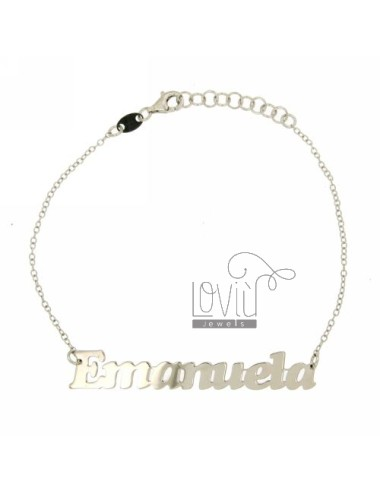 Rolo bracelet 'cm 18 as...