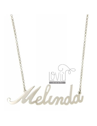ROLO NECKLACE &39CM 45 AS...